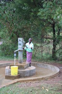 The Water Project:  Diana At The Pump