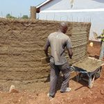 The Water Project: Ikumba Secondary School -  Cementing Tank Walls