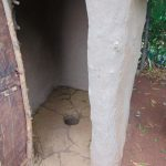 The Water Project: Namarambi Community, Iddi Spring -  Inside A Latrine