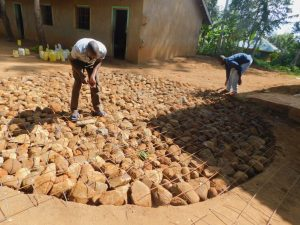 The Water Project:  Tank Foundation Underway