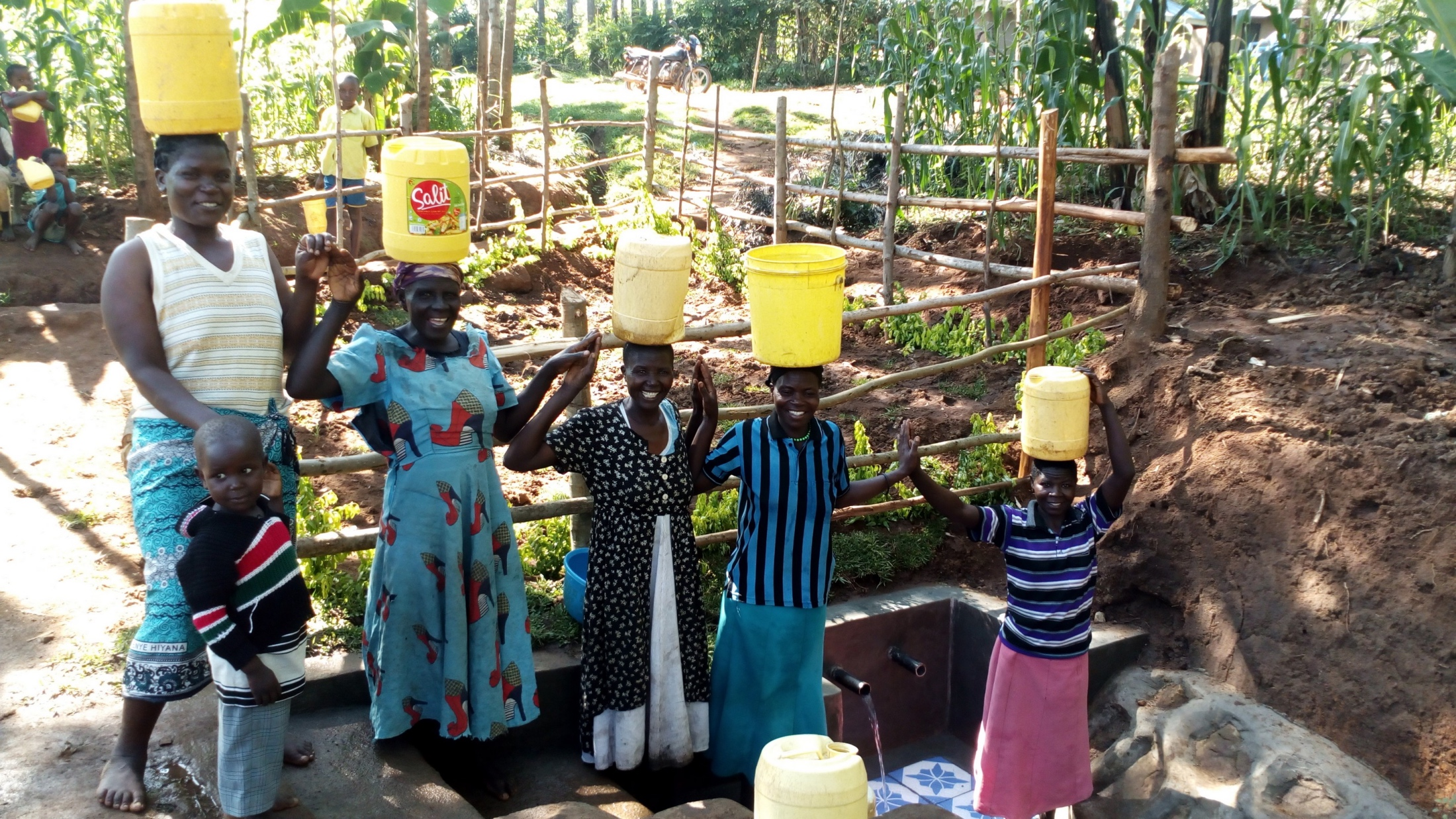 The Water Project : 31-kenya19141-stronger-together