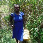 The Water Project: Bukhaywa Community, Shidero Spring -  Sarah Lumumba