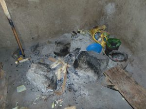The Water Project:  Current Water Source Stone Stove