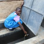 The Water Project: Kapchorwa Primary School -  Turning On The Tanks Tap