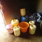 The Water Project: Ewamakhumbi Community, Mukungu Spring -  Water Storage