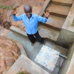 The Water Project: Mutao Community, Kenya Spring -  Hooray For Spring Protection