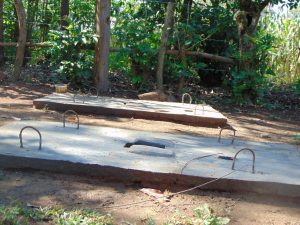 The Water Project:  Completed Sanitation Platforms