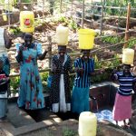 The Water Project: Buhayi Community, Nasichundukha Spring -  Thumbs Up For Clean Water