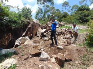 The Water Project:  Rock Breaking Laborers