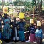 The Water Project: Buhayi Community, Nasichundukha Spring -  All Smiles