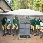 The Water Project: Makunga Primary School -  Giggles At The Rain Tank