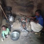 The Water Project: Bukhaywa Community, Ashikhanga Spring -  Cooking On Stove