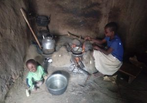 The Water Project:  Cooking On Stove