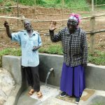 The Water Project: Shamiloli Community, Kwasasala Spring -  All Smiles