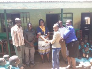 The Water Project:  Handing Over The Project To The School