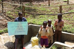 The Water Project:  Thank You St Therese Foundation