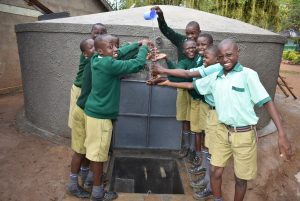 The Water Project:  Let The Splash Games Begin