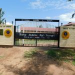 The Water Project: Bishop Makarios Secondary School -  New School Gate