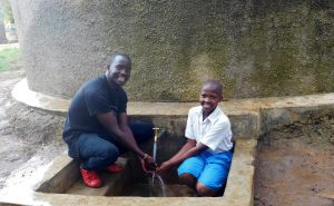 The Water Project:  Field Officer Erick With Juliet