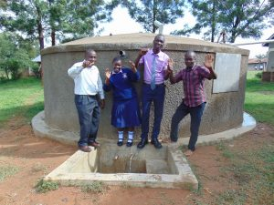 The Water Project:  Principal Phelistus Student And Samidi