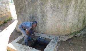 The Water Project:  Bernard Isavwa