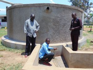 The Water Project:  Mr Opiyo Solomon And Samuel