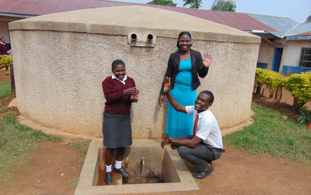 The Water Project : 4-kenya18050-smarone-doreen-and-student