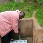 The Water Project: Chandolo Community, Joseph Ingara Spring -  Joseph Ingara At His Spring