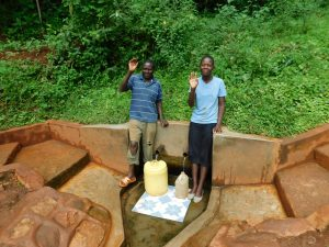 The Water Project:  Aineas And Chrstine