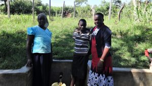 The Water Project:  Ruth Rael And Field Officer Mary Afandi