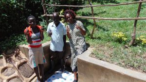 The Water Project:  Maria Jairus And Field Officer Lillian