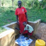 The Water Project: Mbande Community, Handa Spring -  Sarah And Fabian