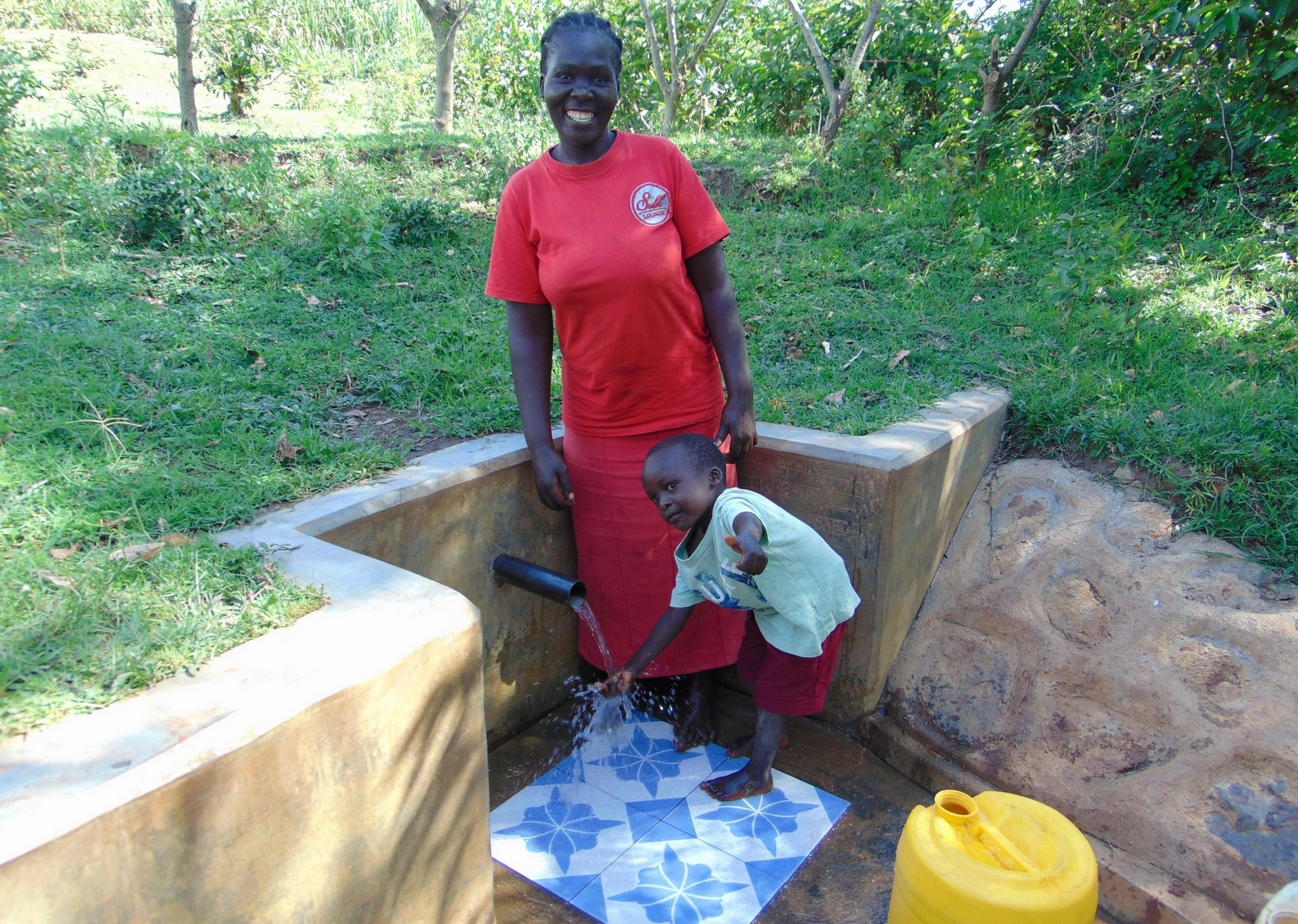 The Water Project : 4-kenya18125-sarah-and-fabian