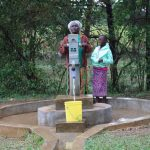 The Water Project: Kitali Community -  Alice And Diana At The Well