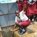The Water Project: St. Theresa's Bumini High School -  Thumbs Up For Running Water