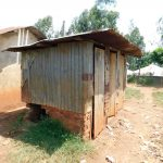The Water Project: Ebukhuliti Primary School -  Hole In Latrine Wall