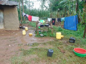 The Water Project:  Clothes And Dishes Drying