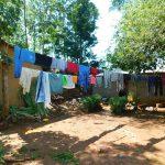 The Water Project: Ewamakhumbi Community, Mukungu Spring -  Clothes Drying