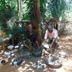The Water Project: Munenga Community, Francis Were Spring -  Blacksmiths At Work
