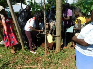 The Water Project:  Leaky Tin Handwashing Training