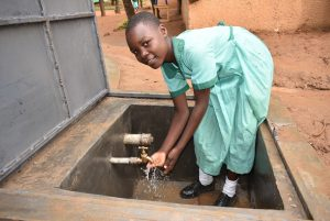 The Water Project:  Flowing Water From The Tank