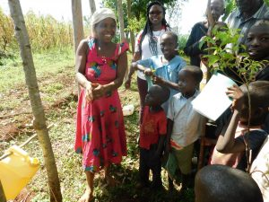 The Water Project:  Washing Hands Using The Leaky Tin