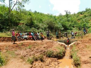 The Water Project:  Training At The Spring Site