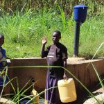 The Water Project: Emulakha Community, Alukoye Spring -  Community Members At Spring