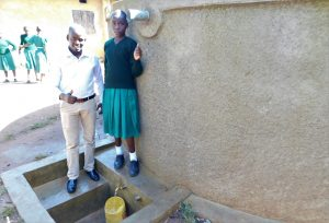 The Water Project:  Field Officer Mutai With Vanessa