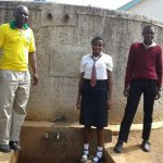 The Water Project: Essong'olo Secondary School -  Asenga With Students