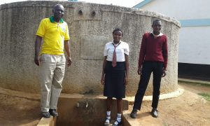 The Water Project:  Asenga With Students