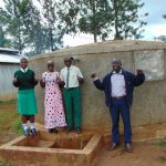 The Water Project: Injira Secondary School -  Field Officer Joan Were Joins In