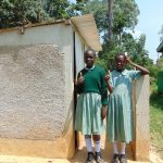 The Water Project: Shitaho Primary School -  Girls At Their Latrines
