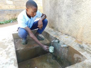 The Water Project:  Alvine Kakai Gets A Drink